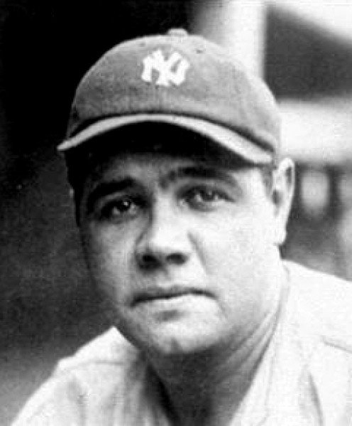 Babe Ruth -- the greatest R player (and greatest ever)
