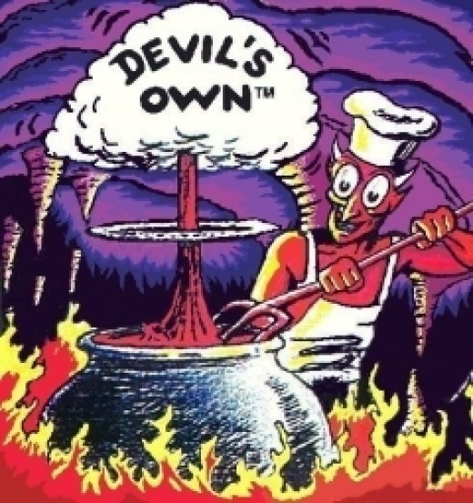 The Devil's Own Hot Sauce