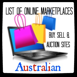 List of Australian Online Marketplaces: Buy, Sell & Auction Sites