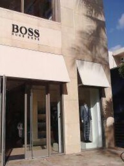 A photo of the Hugo Boss store in Waikiki