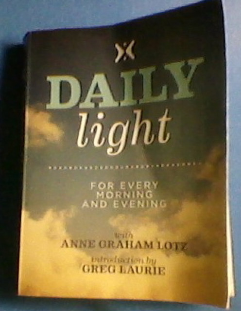 My dog eared copy of Daily Light.