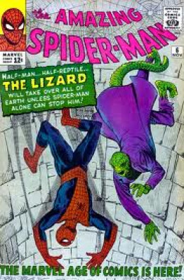 The Lizards first appearance in Amazing Spider-man # 6