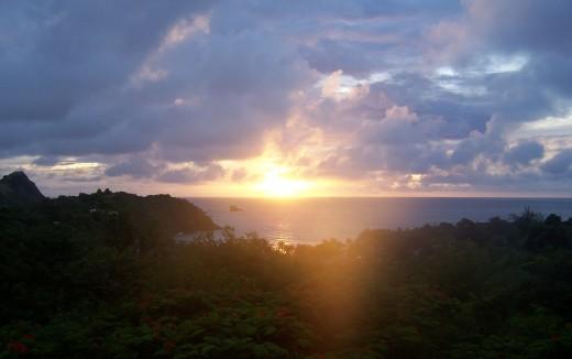 Breathtaking sunsets...