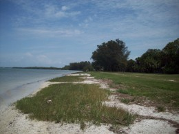 Native and Soldiers' ghosts walk up and down the beach at Fort DeSoto.