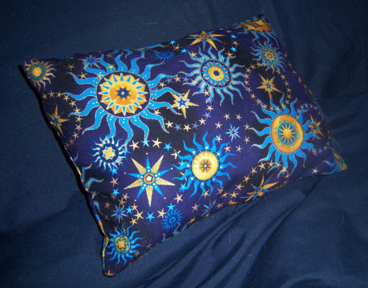 Dream pillows smell wonderful, offer comfort and look great in any bedroom.
