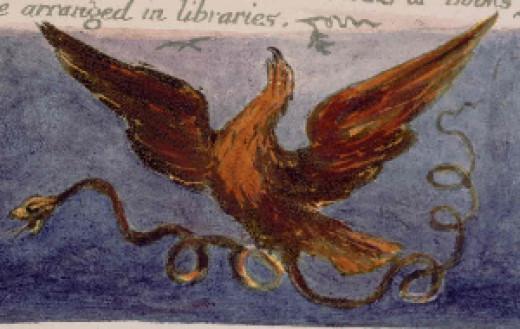 Illustration by William Blake. Public Domain image.