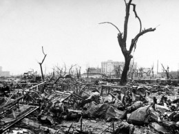 Hiroshima is one instance where the nightmare became fact.