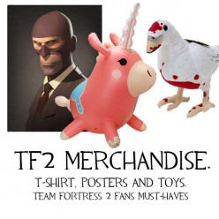 Team Fortress 2 Merchandise