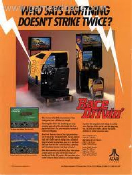 Lightning did strike twice with the excellent follow up game Race Drivin'