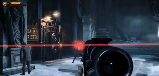 Bioshock Infinite reach the warden's office to activate the lever and rescue Elizabeth