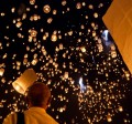 Photographing Sky Lantern Festivals