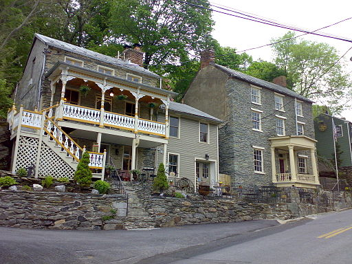 A few of the old houses in Harpers Ferry