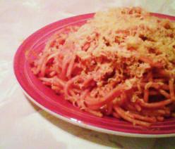 Pasta in Tomato and Onion Sauce Recipe