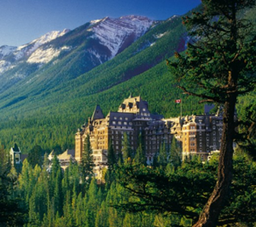 Banff springs hotel alberta for Best places to see in canada
