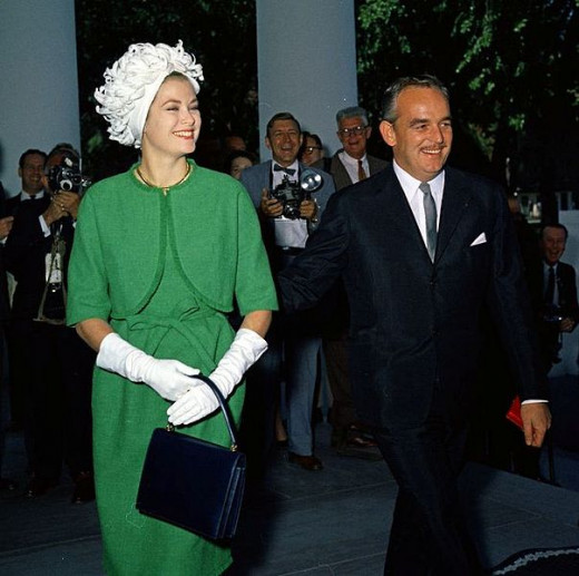 Princess Grace and Prince Rainier