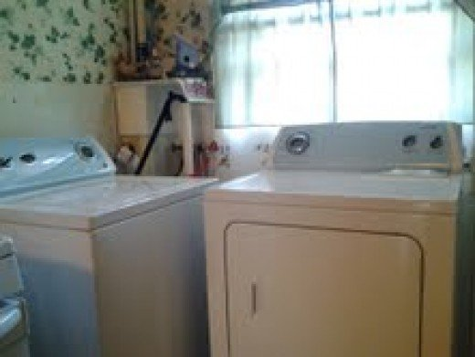 Here is the washer with the matching clothes dryer.