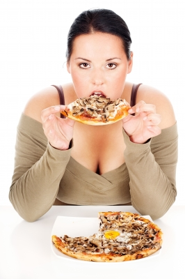 Eating more for the purpose of losing weight doesn't mean that you can feast on ANY food that you like.