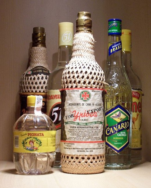 Cachaca is a traditional spirit of Brazil.