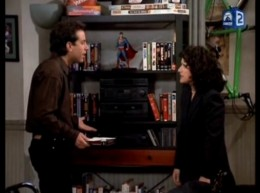 There is a superman, either a figurine or picture, in every episode of Sienfeld.