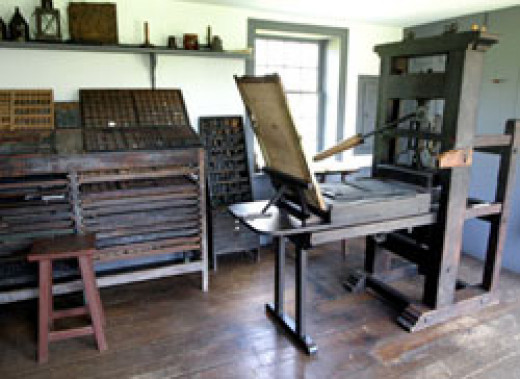 Interior of the Printing Office