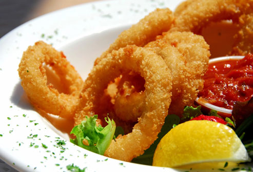 Avoid fried foods when you have diahrrea.