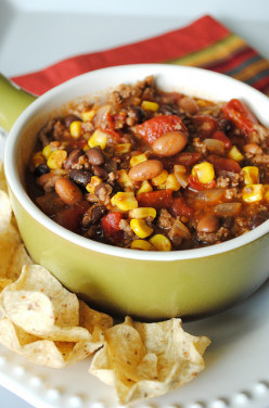 The Best Ever Crock Pot Taco Soup