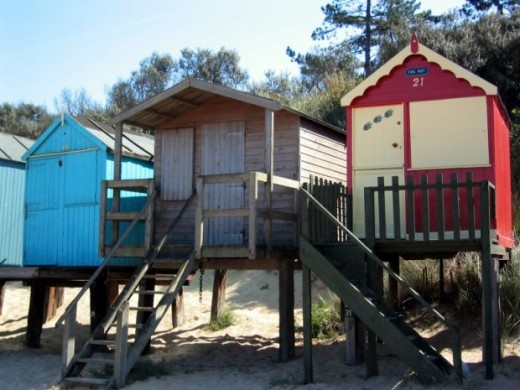 Wells / Holkham beach huts