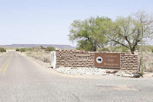 The Kuaua Pueblo in Bernalillo, NM