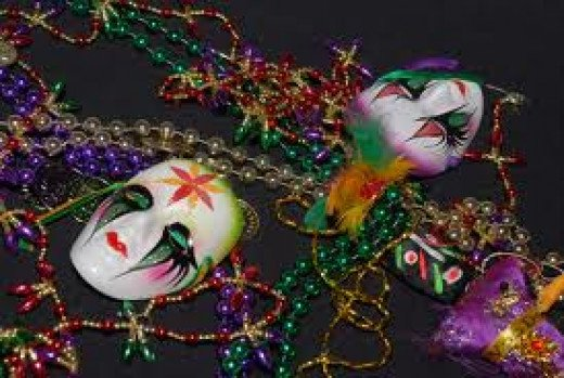Dressing up for Mardi Gras parties is part of the allure and the fun. It is customary to wear a costume and a mask of some sort at these get togethers.