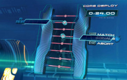 Star Trek the Video Game - crack the first puzzle to open the door.