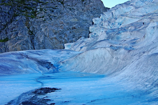 We've all heard about glacial water, but this only available if you happen to be close to a glacier.