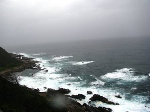 Anther spectacular view of the Indian Ocean coastline