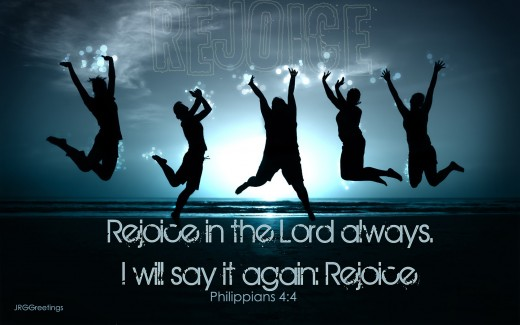 Rejoiice in the Lord