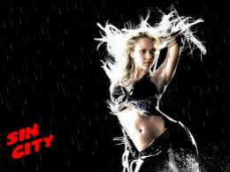 Jessica Alba as seen in Sin City.