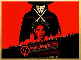 Film poster for V for Vendetta.
