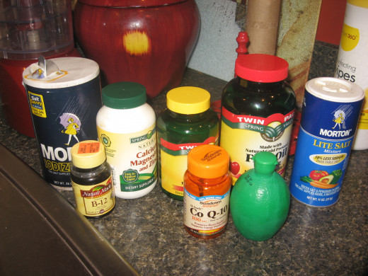 what I add to my green tea health drinks