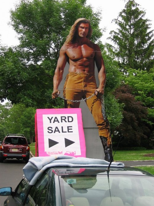 "Efficient yard sale experts have a ""Passion"" for saving..."