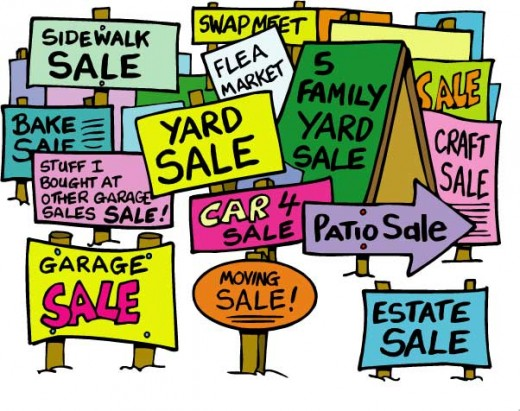 A Group of Yard Sales is the Greatest Ally for a Savvy Yardsaler