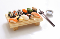 What do you order from a sushi menu?