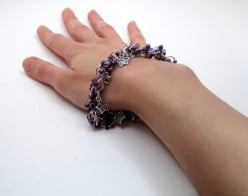I use my own hand and wrist to model my bracelets for my Etsy listing photos.