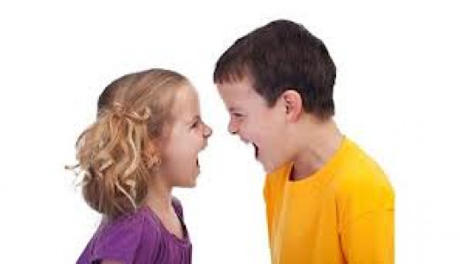 Where there is more than one child, there is usually sibing rivalry.