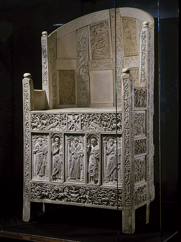The throne of Archbishop Maximian.
