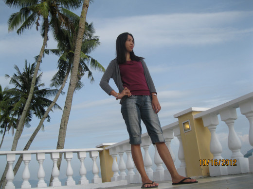 A picture taking trip at Leyte Park Resort