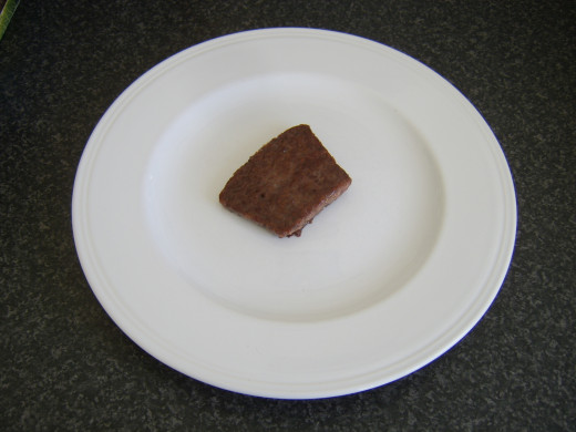 Fried Lorne sausage