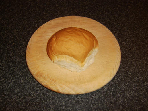 Fresh bread roll