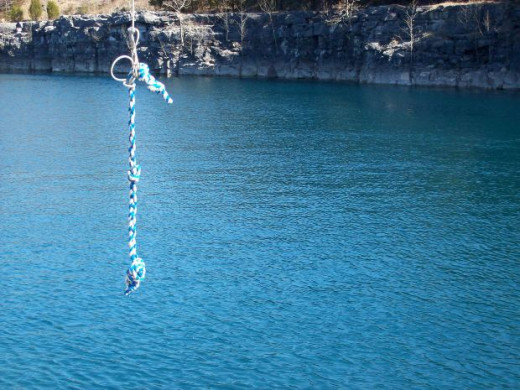 Rope at Water Hole