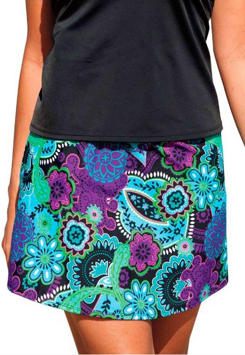 Jessica London Women's Inches Off Swim Skirt