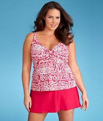Sunsets Sole Twist Tankini