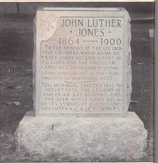Casey Jones headstone