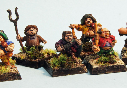 Hobbits (or Halflings) are a popular PC thief in many table top RPG games.